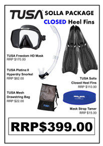 TUSA Freedom HD Solla Closed Heel Package
