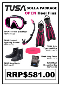 TUSA Freedom Elite Solla Open Heel Package