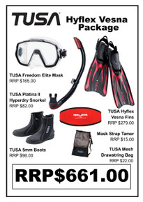 TUSA Freedom Elite Hyflex Vesna Open Heel Package