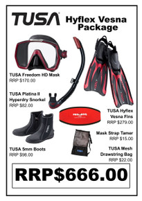TUSA Freedom HD Hyflex Vesna Open Heel Package