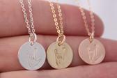 asl • i love you necklace