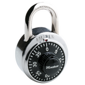 Master Lock No. 1500D 1-7/8in (48mm) Wide Combination Dial Padlock