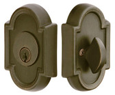 Emtek Single Cylinder Brass #8 Deadbolt