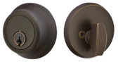 Emtek Sandcast Bronze Regular Deadbolt