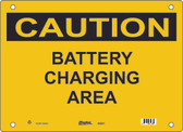 Master Lock S5250 Battery Charging Area Caution Sign
