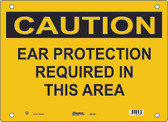 Master Lock S6150 Ear Protection Required In This Area Caution Sign