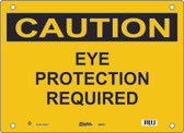 Master Lock S6350 Eye Protection Required Caution Sign