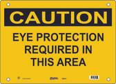 Master Lock S6450 Eye Protection Required In This Area Caution Sign