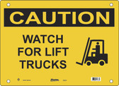 Master Lock S9650 Watch For Forklifts Caution Sign