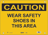Master Lock S9850 Wear Safety Shoes In This Area Caution Sign