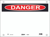 Master Lock S10000 Blank Message Danger Sign