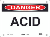Master Lock S10150 ACID Danger Sign