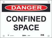 Master Lock S10950 Confined Space Danger Sign