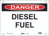 Master Lock S12300 Danger Sign Diesel Fuel