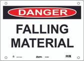 Master Lock S14000  Danger Falling Material Danger Sign