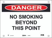 Master Lock S17500  Danger No Smoking Beyond This Point Danger Sign