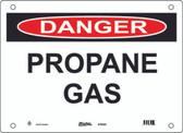 Master Lock S18500  Danger Propane Gas Danger Sign