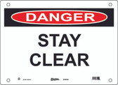 Master Lock S19100  Danger Stay Clear Danger Sign