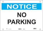 Master Lock S22350  Notice No Parking Notice Sign