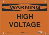 Master Lock S26750  Warning High Voltage Warning Sign