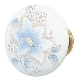 Emtek Porcelain Courtney Knob