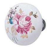 Emtek Porcelain Devonshire Knob