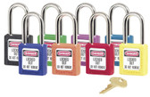 410 Master Lock Lightweight Thermoplastic Safety Padlock (Sold by Singles)