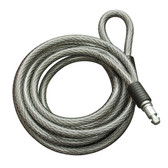 Master Lock, 8256DAT, Spare Braided Steel Cable for 8255DAT Integrated Cable Lock