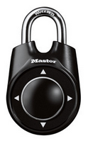 1500iD Combination Speed Dial Padlock - Black