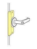 Electric Strike Latch Protector LELP-208