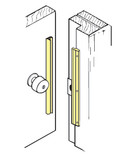 In-Swinging Latch Protector ILP 206