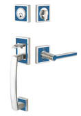 Emtek L4820 Martinique Tubular Entry Set