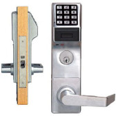 DL3500CR/DB Trilogy Mortise Pin Lever Lock for up to 300 users