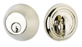 Single Emtek Brass Regular Deadbolt
