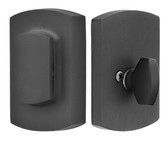 Emtek Sandcast Bronze Ridgemont Deadbolt with Flap