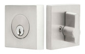 Emtek Stainless Steel Square Deadbolt