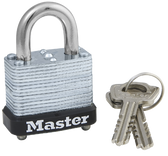 1-1/8in (29mm) Wide Laminated Steel Warded Padlock