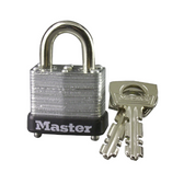 1in (25mm) Wide Laminated Steel Warded Padlock