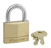 Master Lock No.140  - 1-9/16in (40mm) Wide Solid Brass Body Padlock