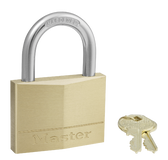 Master Lock No.160 - 2-3/8in (60mm) Wide Solid Brass Body Padlock