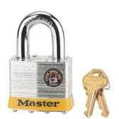 Master Lock No.17DPF - 2in (51mm) Wide Laminated Steel Pin Tumbler Padlock