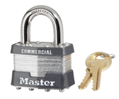 Master Lock No.1 - 1-3/4in (44mm) Wide Laminated Steel Pin Tumbler Padlock
