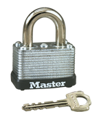 Master Lock No.22 - 1-1/2in (38mm) Wide Laminated Steel Warded Padlock