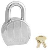 Master Lock No. 230 - 2-1/2in (64mm) Wide Zinc Die-Cast Body Padlock
