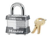Master Lock No.31 - 1-9/16in (40mm) Wide Laminated Steel Pin Tumber Padlock