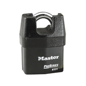 Master Lock No.6325 - 2-3/8in (61mm) Wide ProSeries Shrouded Laminated Steel Rekeyable Pin Tumbler Padlock