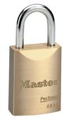 Master Lock No.6830 - 1-9/16in (40mm) Wide ProSeries Solid Brass Rekeyable Pin Tumbler Padlock