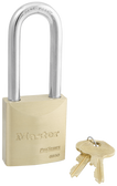 Master Lock No.6850 - 2in (51mm) Wide ProSeries Solid Brass Rekeyable Pin Tumbler Padlock