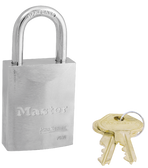 Master Lock No.7030 - 1-9/16in (40mm) Wide ProSeries Solid Steel Rekeyable Pin Tumbler Padlock