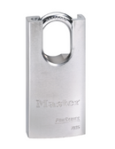 Master Lock No.7035 - 1-9/16in (40mm) Wide ProSeries Shrouded Solid Steel Rekeyable Pin Tumbler Padlock